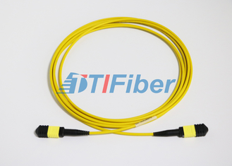 UPC / APC MTP Singlemode Fiber Optic Patch Cords with LSZH Jacket