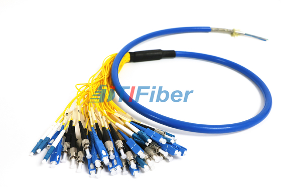 Armoured Waterproof Optical Fiber Pigtail With G652D G657A1 Fiber