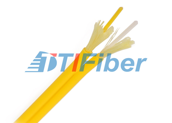 China Simplex Fiber Optic Cable Outdoor Singlemode PVC Jacket For Data Communication factory
