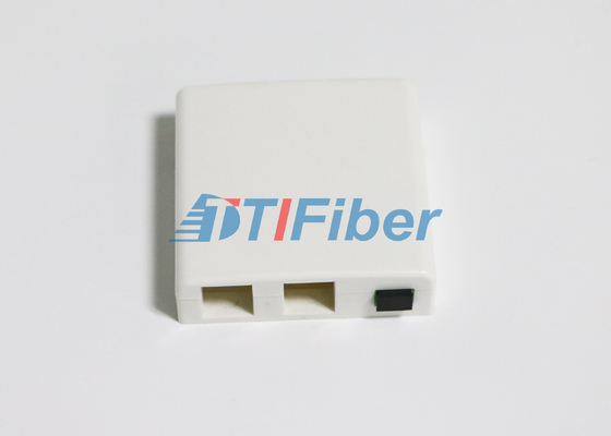 Network FTTH Termination Box With Optical Fiber Adapter And Pigtails