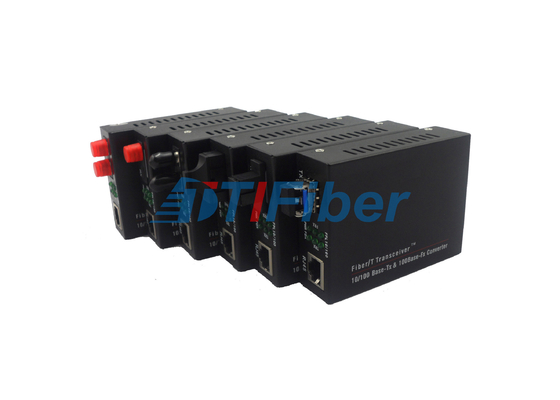 10/100/1000M 2KM Fiber Optic Media Converter for FC Connector