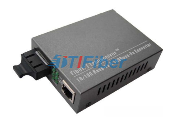 10/100M 1310nm Dual Fiber Fast Ethernet Optical Fiber Media Converter Cat 5 UTP